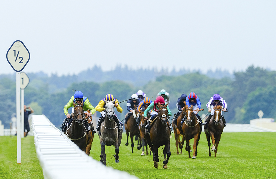 Joe Fanning takes Subjectivist to victory in the 2021 Ascot Gold Cup