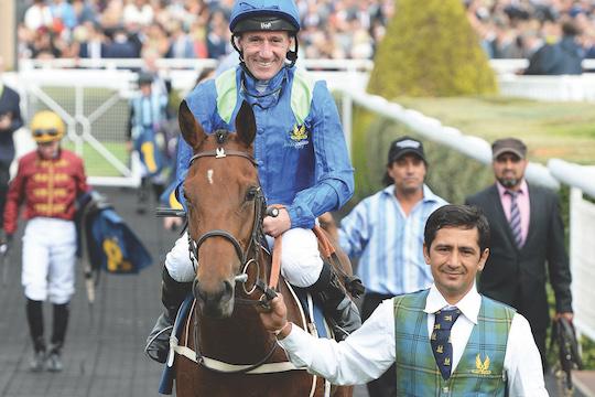 partnership horse racing trainer mark johnston