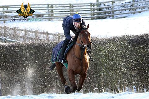 Louis Blanchet johnston racing