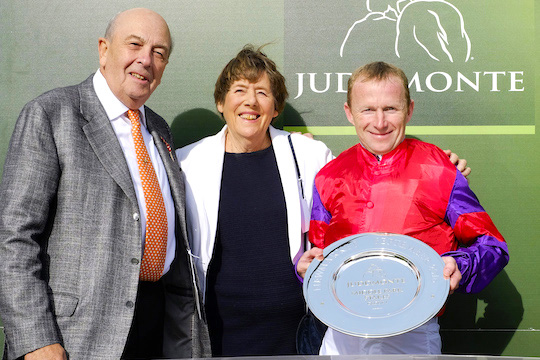 sole ownership horse racing trainer mark johnston